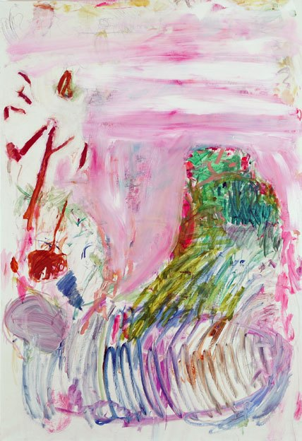 Untitled 122, 13.02 - 19.02 1991, oil on canvas, 200 x 138cm