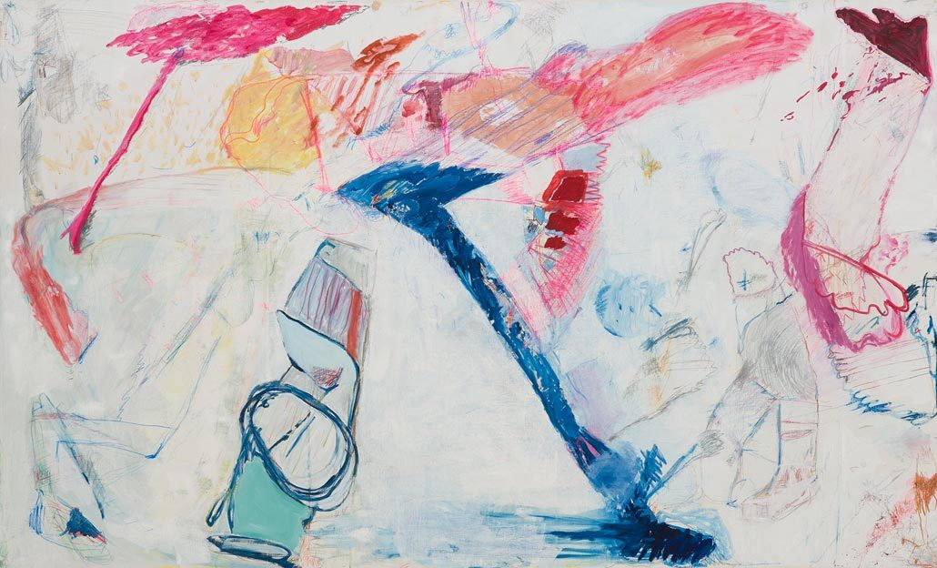 Untitled 19, 26.07. - 09.08.1986, oil on canvas, 200 x 328 cm