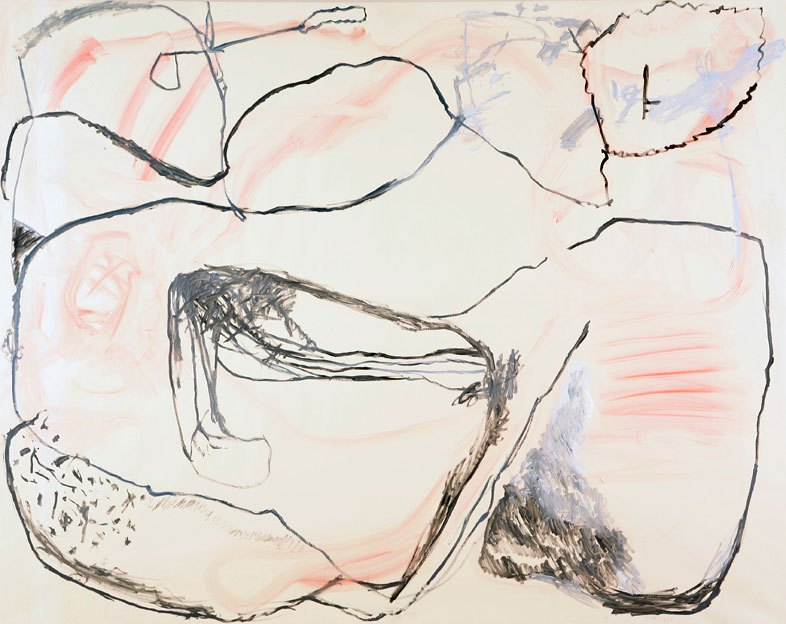Untitled 22, 04.12.1986, oil on canvas, 200 x 253 cm
