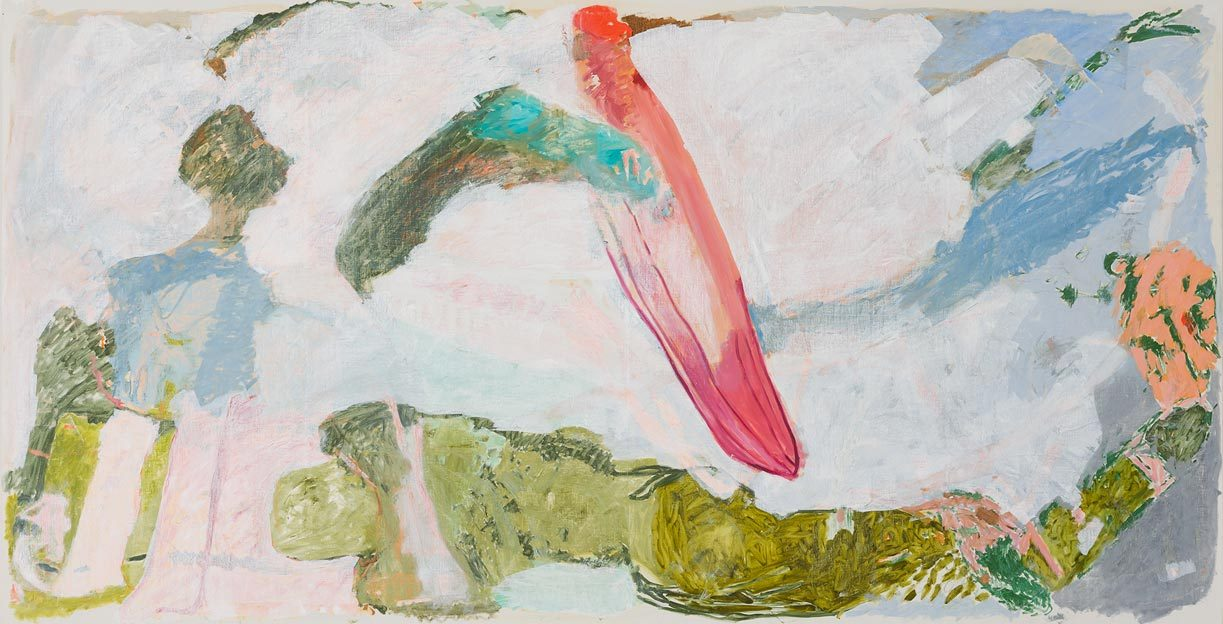 Untitled 30, 16.03.1987, oil on canvas, 200 x 380 cm