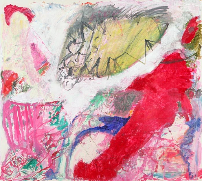 Untitled 37, 16.07. - 20.07.1987, 03.08. - 04.08.1987,  oil on canvas, 200 x 225 cm