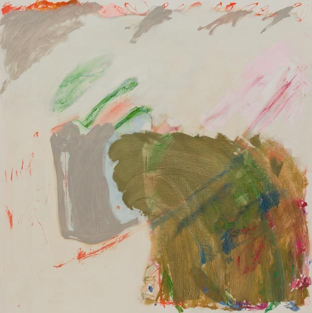 Untitled 44, 3.5.1987, oil on canvas, 200 x 200 cm