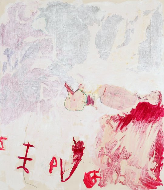 Untitled 47,  09.12. - 12.12.1987, oil on canvas, 200 x 173 cm