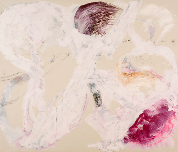 Untitled 4, 24.07. - 31.07.1985, 17.03 2014, oil on canvas, 200 x 235 cm