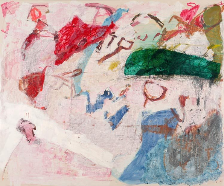 Untitled 52, 18.12.1987, 22.04.1988, 04.05. - 05.05.1988, 08.05.1988,  oil on canvas, 200 x 240 cm