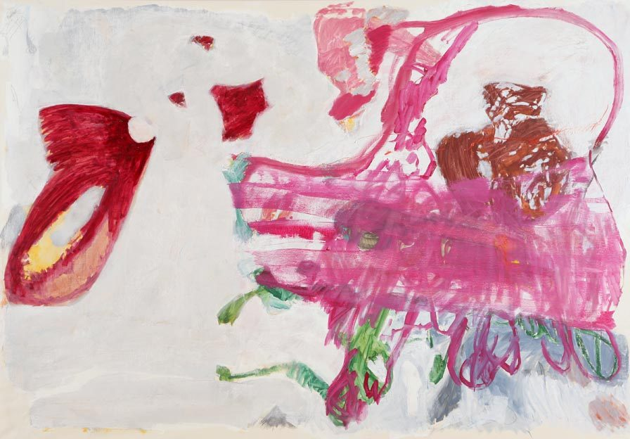 Untitled 53, 06.05.1988, 14.05. - 18.05.1988, oil on canvas, 286 x 200 cm