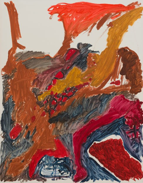 Untitled 67, 7.1988-2.1989, oil on canvas, 200 x 156 cm