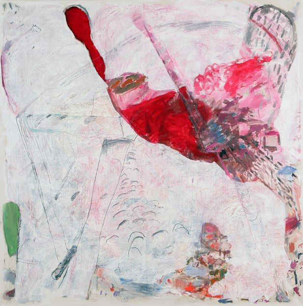 Untitled 6, 15.08 - 06.09.1985, oil on canvas, 200 x 198 cm