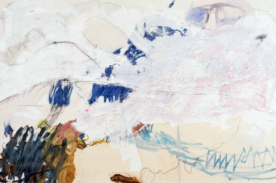 Untitled 77, 22.05. - 23.05.1989, 30.05.1989, oil on canvas, 200x 298 cm