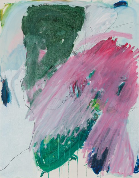 Untitled 79, 23.5 - 29.5.1989, oil on canvas, 200 x 159 cm