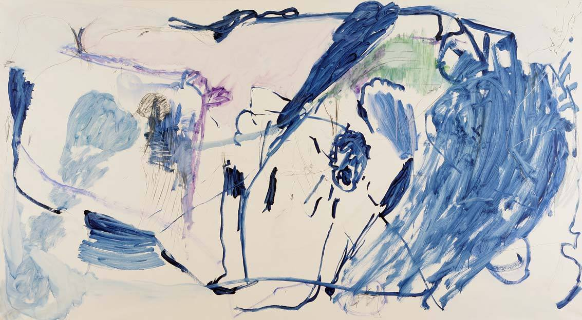 Untitled 8, 20.06.1989, 01.07 1989, oil on canvas,  200 x 360 cm