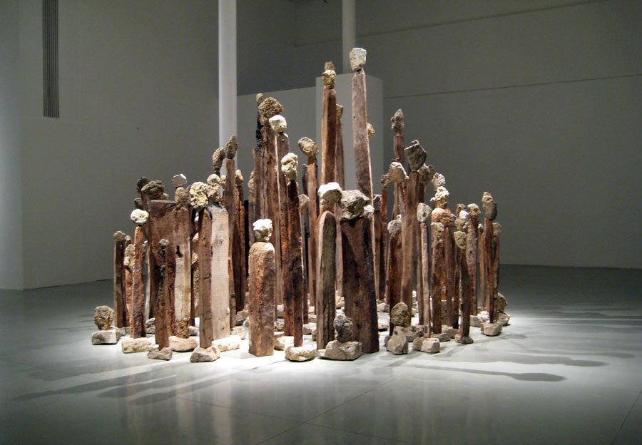 Anthropomorphic sculptures